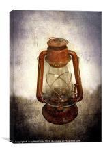Vintage Lantern, Canvas Print