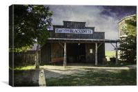 Open for Business, Canvas Print