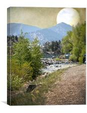 Idaho Springs Paradise, Canvas Print