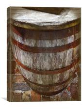Looking Down the Barrel, Canvas Print
