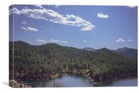 Rocky Mountain Lake 1, Canvas Print