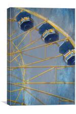 Sky Buckets, Canvas Print