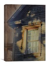 Florida Cracker House, Canvas Print