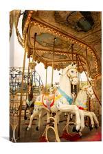 Ride the Wild Pony, Canvas Print