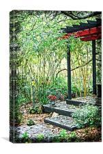 Japanese Garden, Canvas Print