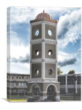 Crowder College Tatum Tower, Canvas Print