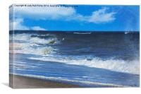 Atlantic Surf, Canvas Print