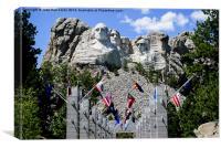 Presidents Rock, Canvas Print