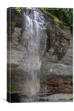 Water Veil, Canvas Print