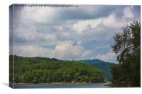 Glenview Lakeview, Canvas Print