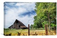 Rural Missouri, Canvas Print