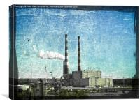 Energy, Canvas Print