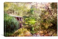 Swamp Life, Canvas Print