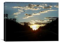 Brooksville Sunrise, Canvas Print
