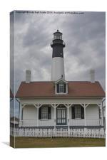 Tybee Island Lighthouse, Canvas Print