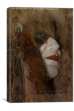 Mask, Canvas Print