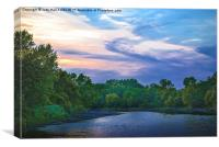 Little Racoon River, Canvas Print