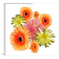 Bouquet of Flowers, Canvas Print