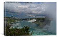 Beauty of Niagara Falls, Canvas Print