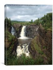High Falls Grand Portage MN, Canvas Print