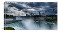 Canadian Skyline, Canvas Print
