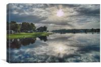 Caloosahatchee at Daybreak, Canvas Print