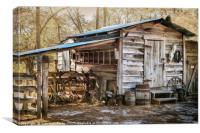Outbuilding, Canvas Print