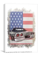 American Dream Machine, Canvas Print