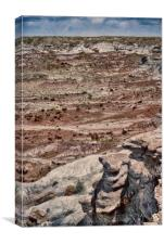 Rugged Terrain of the Southwest, Canvas Print