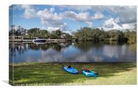 Caloosahatchee Kayaking, Canvas Print