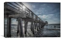 Sun and Fun in Naples Florida, Canvas Print