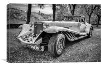 1986 Excalibur Phaeton, Canvas Print