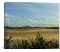 Beautiful Cornwall Beach!, Canvas Print