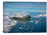 Typhoon Triplex 1, Canvas Print