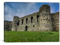 Beaumaris Castle, Canvas Print