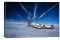 Supermarine Spitfire Fighter, Canvas Print