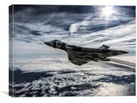 Vulcan Delta Bomber, Canvas Print