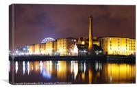Liverpool Pumphouse, Canvas Print