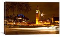 Parliament Square, London, Canvas Print