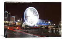 Liverpool Big Wheel, Canvas Print