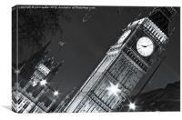 Big Ben Clocktower, Canvas Print