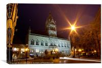 Chester Town Hall, Canvas Print