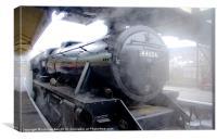 LLangollen Steam Train, Canvas Print