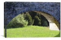 A Bridge To Spring, Canvas Print