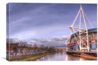 Millennium Stadium, Cardiff, Canvas Print