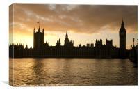 Parliament House, Canvas Print