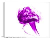 Purple Smoke, Canvas Print