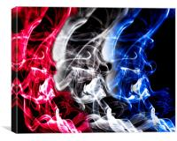 Red,White and Blue, Canvas Print