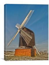 brill windmill, Canvas Print