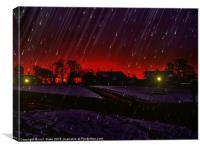 winters gloom, Canvas Print